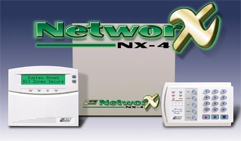 TRUNG TÂM BÁO CHÁY NETWORX NX-4 4 ZONE